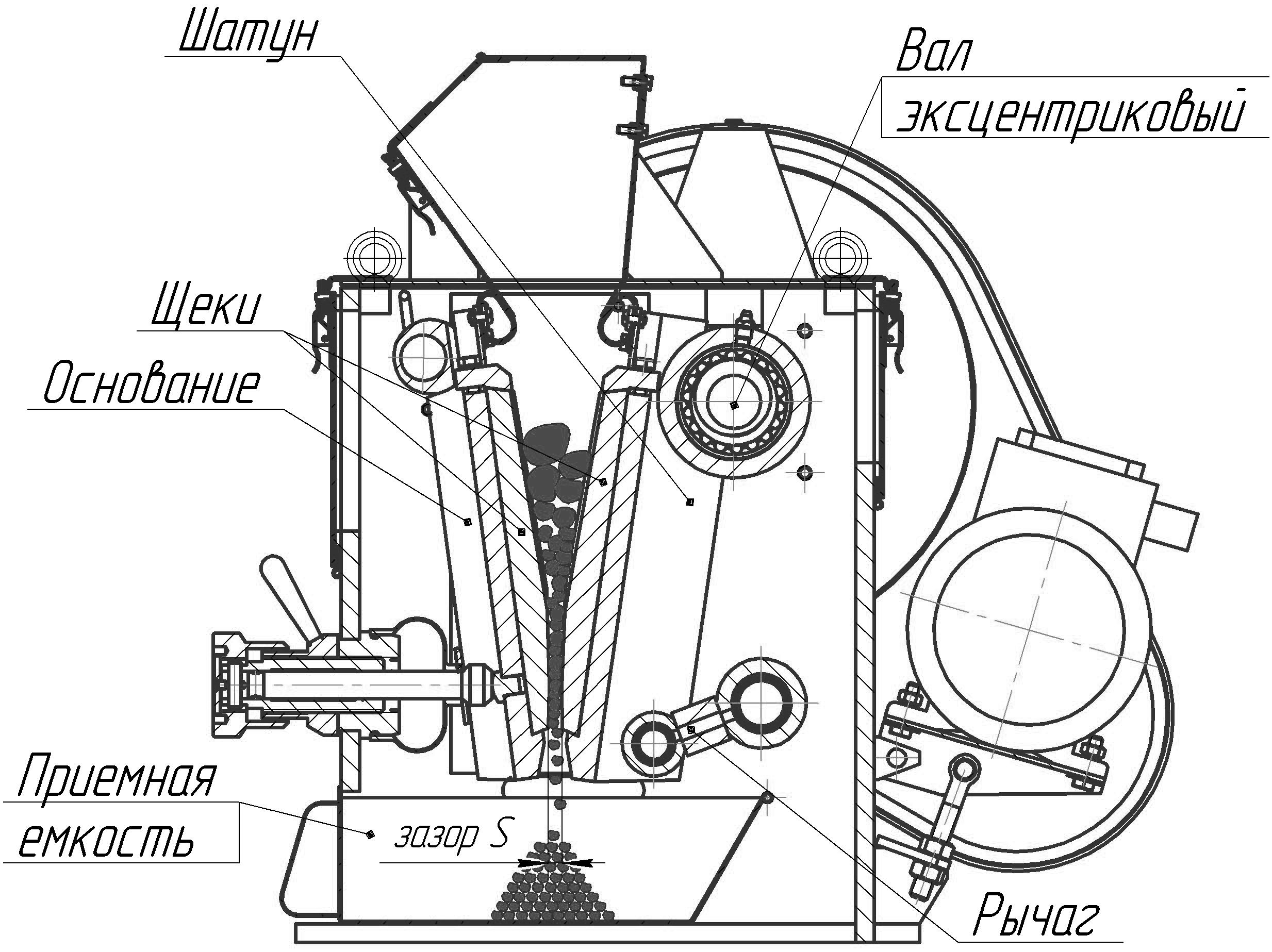 Схема ЩД 6М